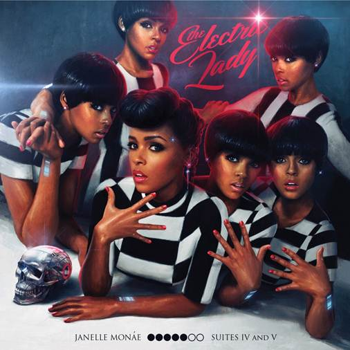 Janelle Monae CD Album Cover - Electric Lady